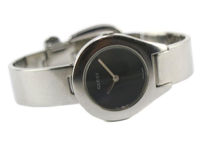 GUCCI【グッチ】 6700L クォーツ バングルウォッチ レディース SS ステンレス 腕時計 電池交換済【中古】 USED-6 質屋かんてい局小牧店 c19-4415