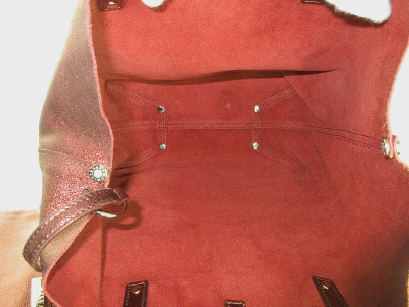 TIFFANY&Co.【ティファニー】『リバーシブルハンドバッグ』レザー×スエード 赤茶系 鞄 ブランド ファッション レディース【中古】USED-B【6】k2000943-222 質屋かんてい局春日井店