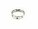 4℃【ヨンドシー】K18WG ダイヤモンド リング 指輪 レディース シンプル 約8号 約4.2g 【中古】 USED-9 質屋かんてい局 小牧店 c3103412928500001