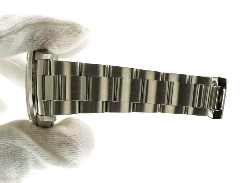 ROLEX【ロレックス】 16200 デイトジャスト ステンレススチール 自動巻き ブラック Y番 ギャラ有り メンズ 腕時計 USED-9 【中古】質屋かんてい局春日井店 k19-7010