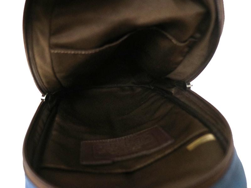 COACH【コーチ】 F70834 ボディバッグ ショルダーバッグ 寒色系 バッグ メンズ キャンバス レザー 【中古】 USED-6 質屋 かんてい局小牧店 c3100658928500002