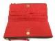 LOUIS VUITTON【ルイ・ヴィトン】M61287 ポルトフォイユ・アデル モノグラム キャンバス ブラウン メンズ レディース ユニセックス 茶×赤 USED-7【中古】c20-272
