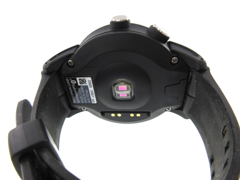 EPSON【エプソン】 U350BS ランニングウォッチ ステンレススチール ラバー GPS機能 心拍トレーニング機能 腕時計 家電 ブランド ファッション メンズ スポーツ 【中古】USED-B【6】k19-5491 質屋 かんてい局春日井店