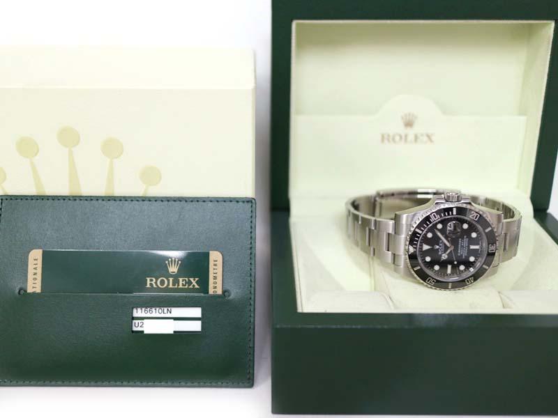 ROLEX【ロレックス】 116610LN サブマリーナー 腕時計 ランダム番 2013年購入 メンズ 自動巻 ダイバーズウォッチ ステンレススチール 【中古】 質屋 かんてい局小牧店 c3100004928500043 USED-8