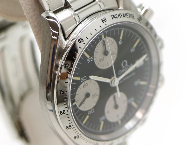 OMEGA【オメガ】 3511.50 スピードマスターデイト クロノグラフ ブラック メンズ 腕時計 【中古】 USED-9 質屋 かんてい局茜部店 a19-6355