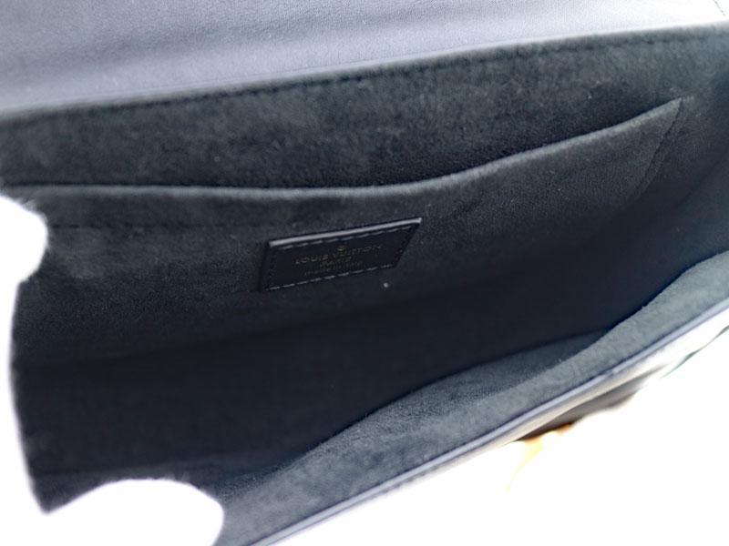 LOUIS VUITTON【ルイ・ヴィトン】M51498 ニューウェーブ チェーンバッグMM レザー ブラック系 ノワール  レディース キルティング ブランド ファッション 【中古】USED-8  質屋 かんてい局 小牧店 c3100427928500030