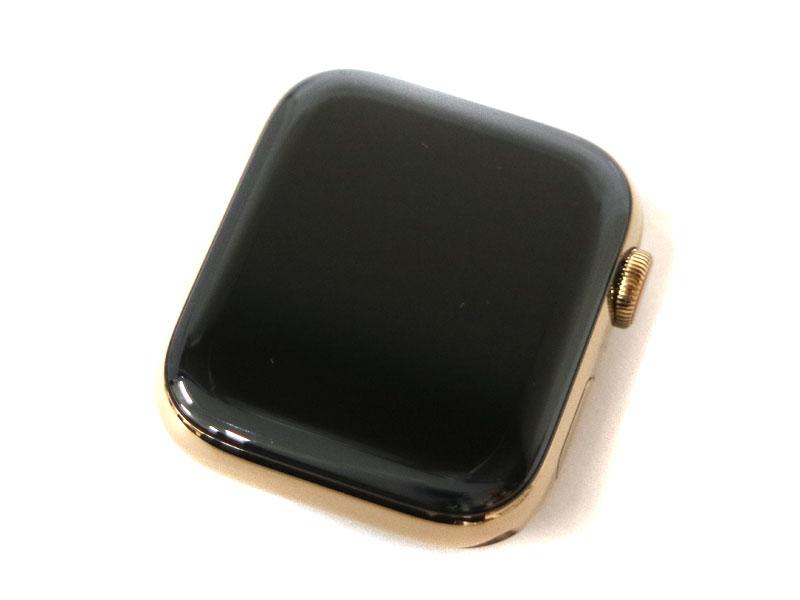 APPLE【アップル】 MTX42J/A AppleWatch アップルウォッチ SERIES 4  GPS+Cellularモデル 44mm ゴールドステンレススチールケース ストーンスポーツバンド 【中古】 USED-8 質屋 かんてい局小牧店 c19-93