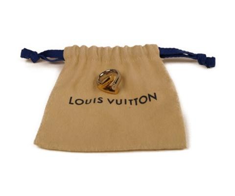 【LOUIS VUITTON】ルイヴィトン エセンシャルV M63121 ファッションリング 【中古】F68-5957 USED-A かんてい局本社