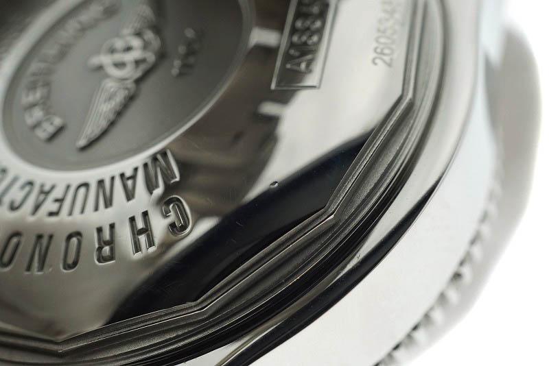 【OH/仕上げ済み】BREITLING【ブライトリング】A13341 スーパーオーシャンクロノ SS 黒×赤文字盤 500M防水 メンズ クロノグラフ【中古】USED-9 質屋かんてい局細畑店 h19-4838
