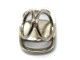 FERRAGAMO【フェラガモ】 34-5243/01 スカーフリング 金属素材 シルバー系 USED-8【中古】A2001219 質屋 かんてい局茜部店