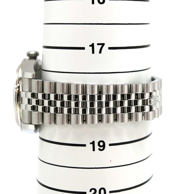ROLEX【ロレックス】116244 デイトジャスト SS(ステンレス)×K18WG(ホワイトゴールド)コンビ レディース ダイヤモンド ピンク フラワー 自動巻き 腕時計【中古】質屋 かんてい局茜部店 a3100004028600060