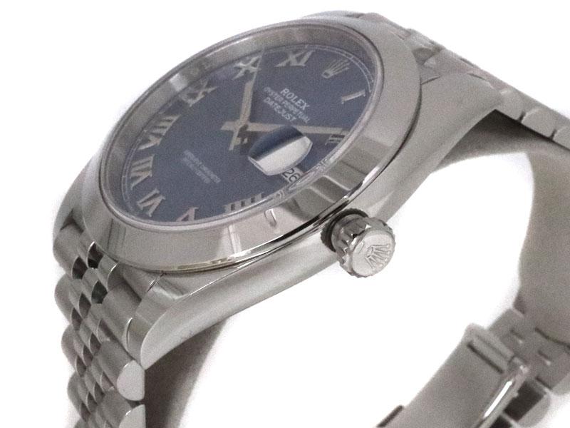 ROLEX【ロレックス】 126300 デイトジャスト ステンレススチール 自動巻き 日付表示 ランダム品番 ブランド 腕時計 ファッション 【中古】 質屋 かんてい局茜部店 USED-8 a19-10652