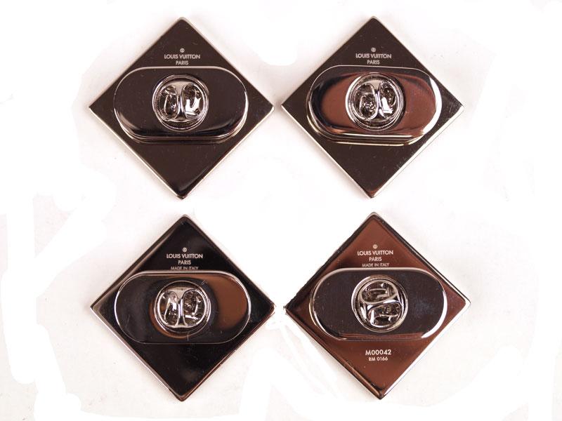 【LOUIS VUITTON】ルイ・ヴィトン ピンブローチ M00042 ブローチ モノグラム メタル 【中古】 USED-S F69-3263 かんてい局本社