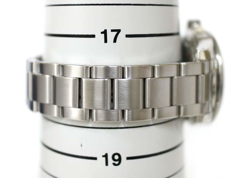 GRAND SEIKO【グランドセイコー】 SBGE213 GMT スプリングドライブ 腕時計 メンズ ステンレススチール ブラック パワーリザーブ 【中古】 質屋 かんてい局小牧店 c3100017928500013 USED-9