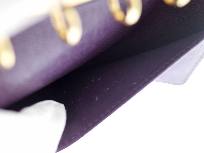 LOUIS VUITTON【ルイ・ヴィトン】 R20059 アジェンダ PM 手帳カバー スケジュール帳 エピ系 イエロー系×パープル系 小物 レディース メンズ ユニセックス 【中古】 USED-6 質屋 かんてい局 小牧店 c20-856