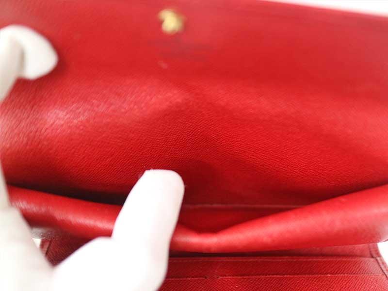 LOUIS VUITTON【ルイヴィトン】M63387 3つ折り財布 長財布 エピ レッド系 赤 レディース 【中古】 USED-6  質屋 かんてい局 小牧店 c20-810