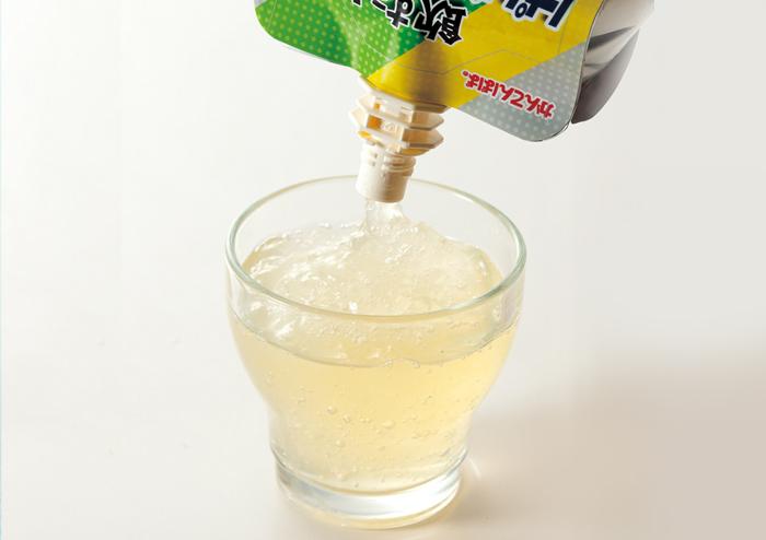飲む!ぱぱ寒天ゼリー ゆず味