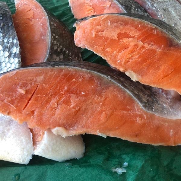 【むさしの水産】「身厚・脂あり!甘口銀鮭半身」