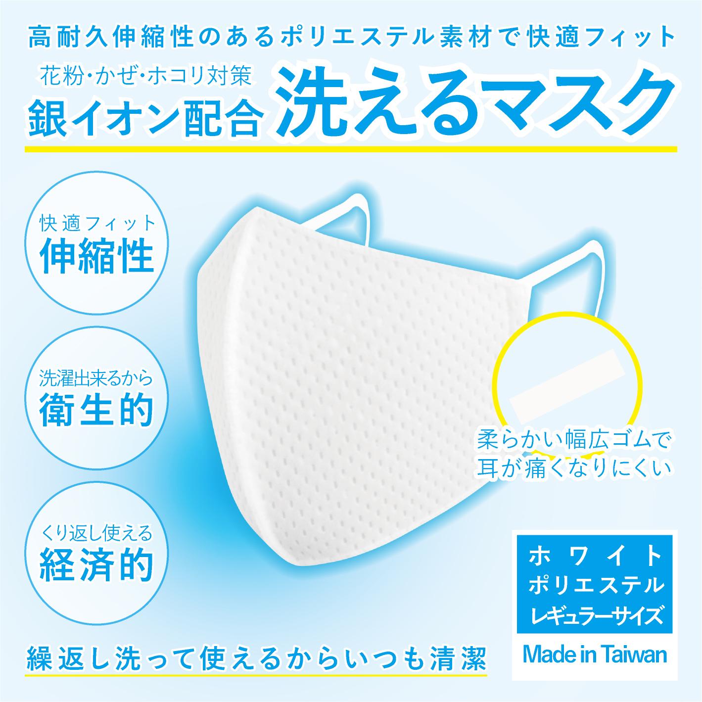 「洗えるマスク」交換用耳ヒモ