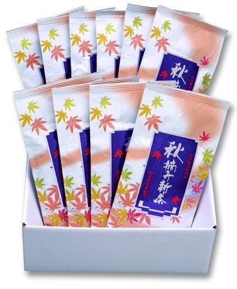 秋摘み新茶(100g)10本セット