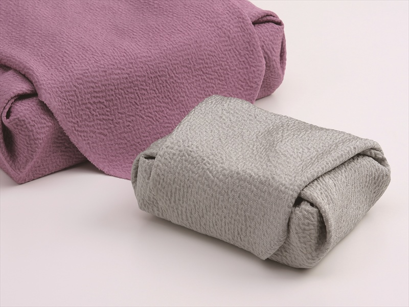 正絹のふろしき 万葉の色  (萩)  50cm