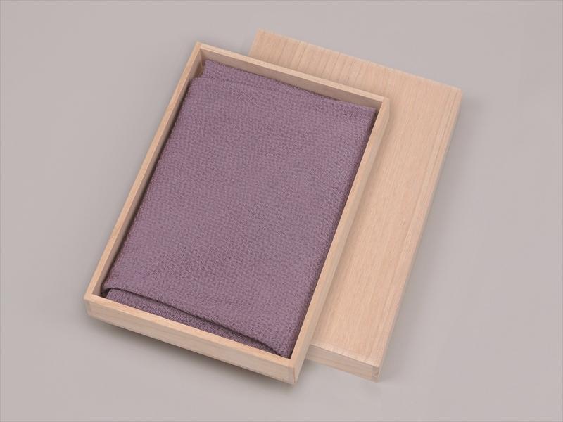 正絹のふろしき 万葉の色  (藤)  75cm