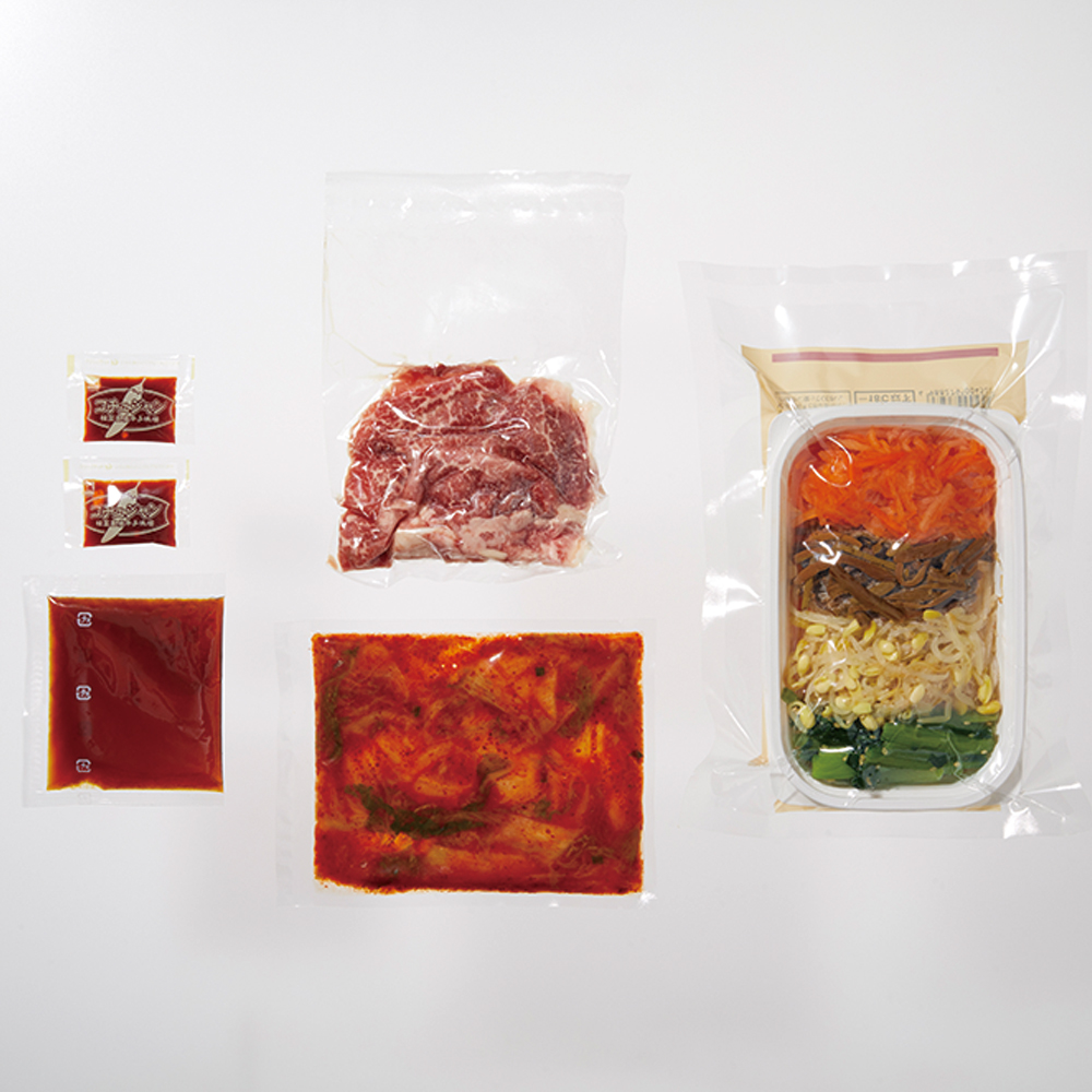 【Meal Kit】国産牛の石焼風ビビンバ【2〜3人前】