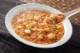 食べる酸辣湯スープ