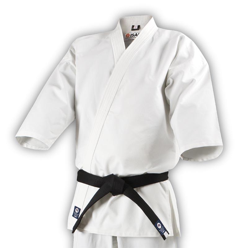 極上フルコンタクト晒空手衣(上衣) (K-481)