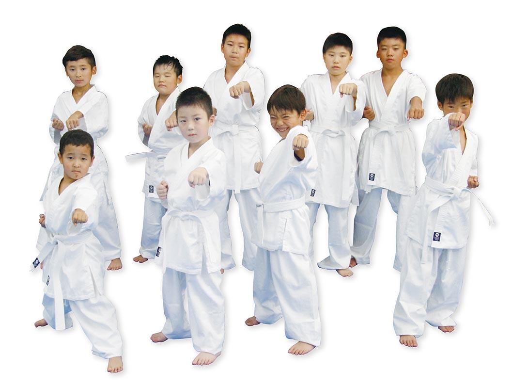 子供用晒フルコンタクト空手衣(上下帯付)