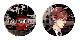 【オメルタ】AGF2019グッズセット(クリアしおり2種セット+缶バッジ2種)