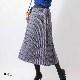 【30%OFF】グレンチェックプリーツスカート【AW SALE】
