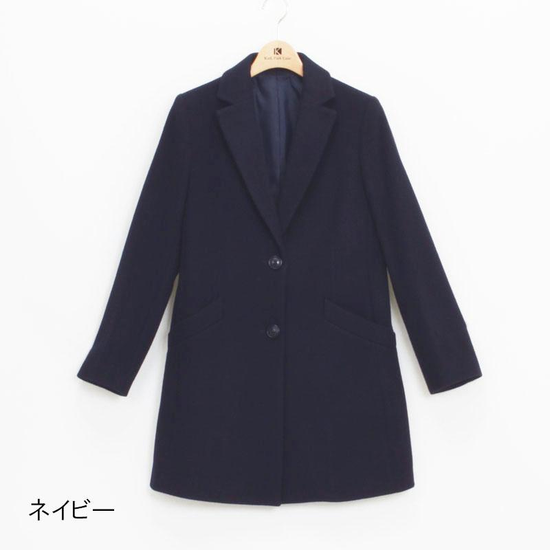 【66%OFF特別価格】78丈チェスターコート【AW SALE】