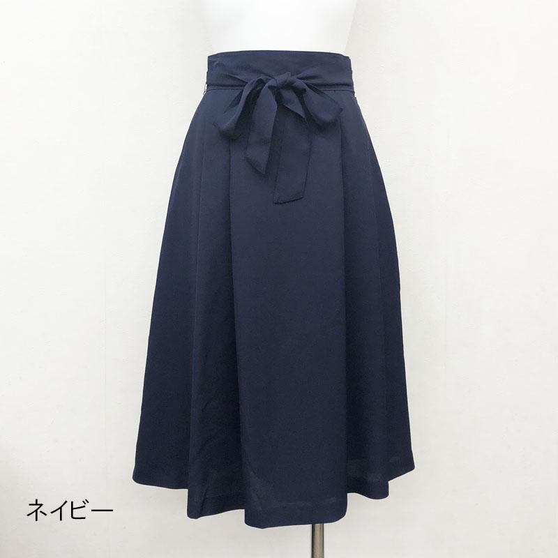 【50%OFF】フルダルタックフレアースカート【SS SALE】