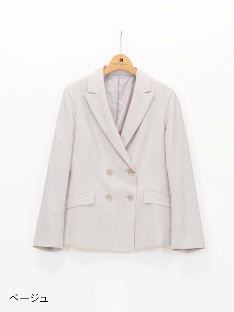 【20%OFF】麻風ピークドラペルダブルブレストジャケット