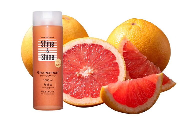 Shine & Shine コールドプレスジュース