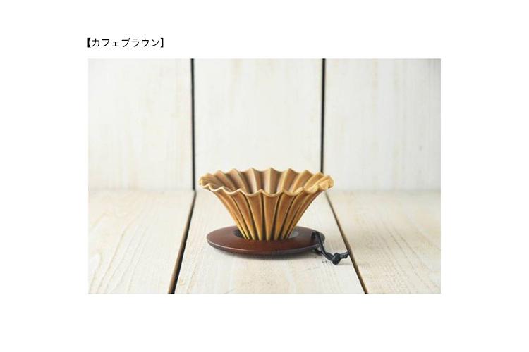 ◆送料無料◆美濃焼フレアドリッパー&フレンチブレンドコーヒー200g<円錐フィルター付>