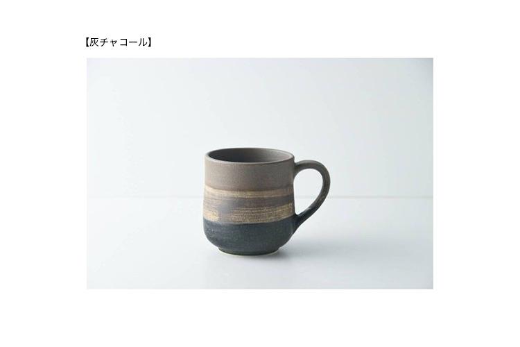 ◆送料無料◆美濃焼ワイルド・ウッドマグカップ&フレンチブレンドコーヒー200g