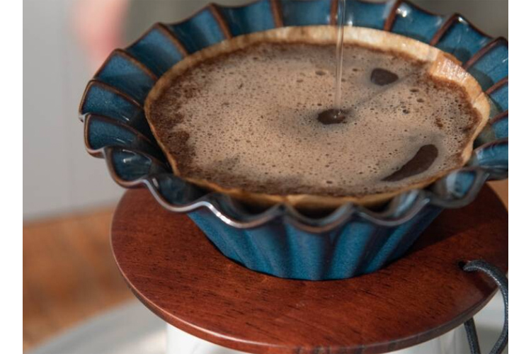 円すい形ペーパーフィルター1杯用 ブラウン 100枚入り[日本製/洋食器]