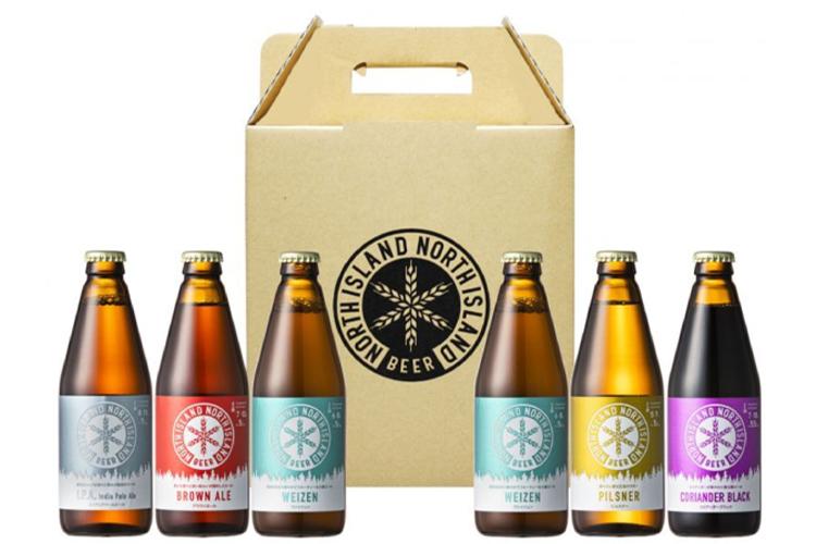 【ビール工房直送】ノースアイランドビール飲み比べ6本セット