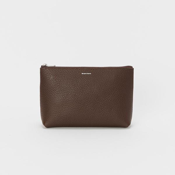 エンダースキーマ pouch M -dark brown-
