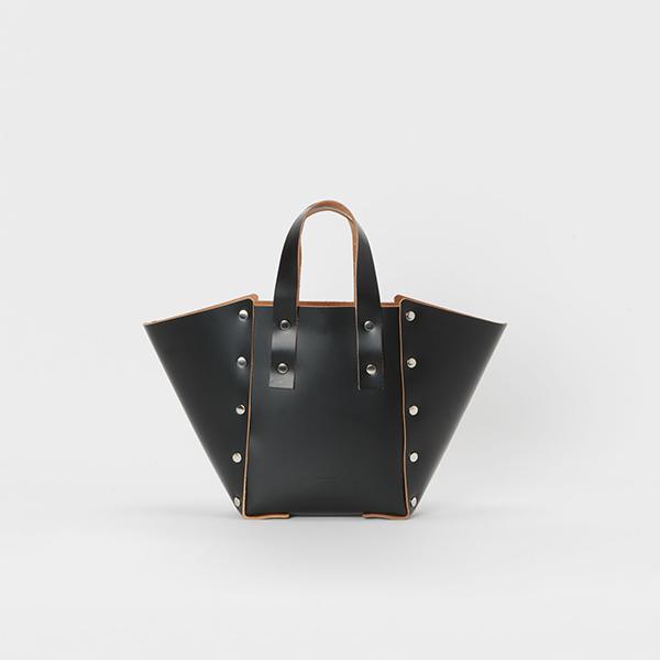 エンダースキーマ assemble hand bag wide S -black-