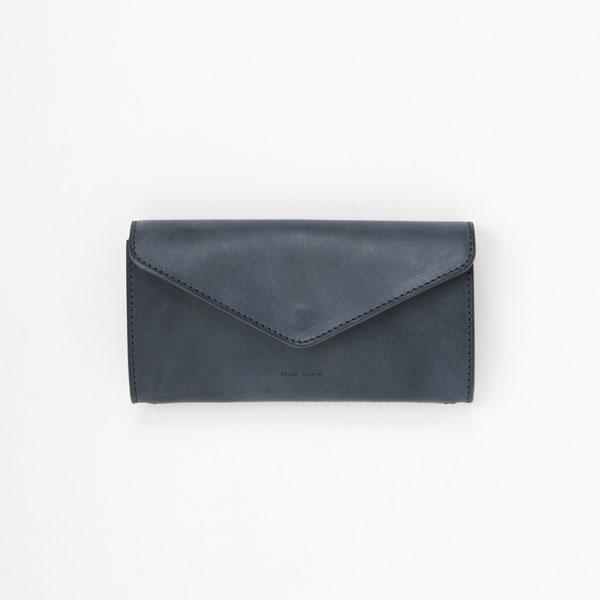 エンダースキーマ long wallet -navy-