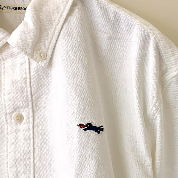 ティグルブロカンテ Vintage オックス ボタンダウンオープン L/S シャツ  unisex