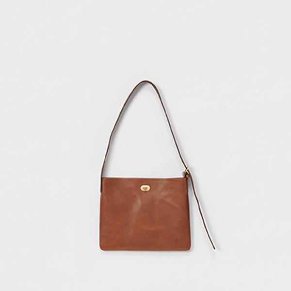 エンダースキーマ twist buckle bag S -dark brown-