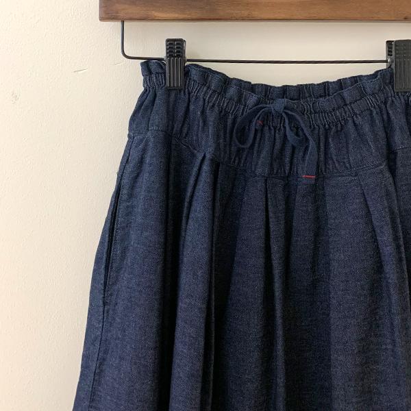 ティグルブロカンテ 6ozデニム ポケットフィセルスカート