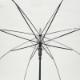 ビニール傘60cm 透明 ジャンプ