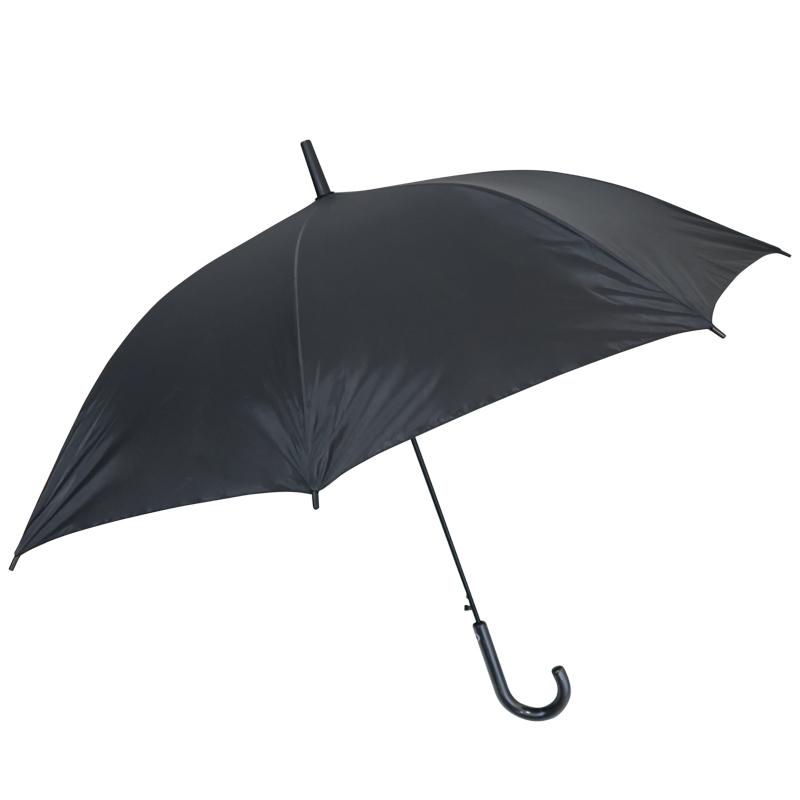 ポリエステル傘60cm 黒 ジャンプ