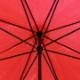 ビニール傘50cm カラー 赤色(レッド)