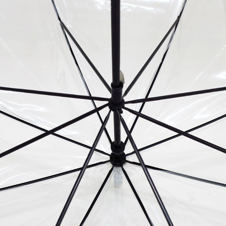 ビニール傘60cm エコスリム 手開き